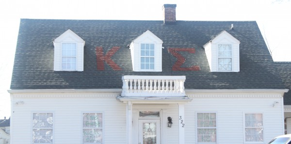 The Kappa Sigma fraternity house on Home Avenue. Kappa Sigma was established in 1985. Princess Andress | Staff Photographer