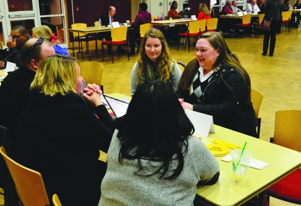 Over 250 Students met APSU Alumni and professionals to discuss career advice at the eighth annual Career Networking Event on Wednesday, Feb. 20. Josh Vaughn | Photo Editor