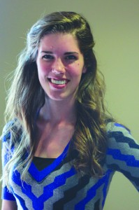Candidate, Jessica Dillingham  is running for SGA vice president.  Princess Andress | staff photographer