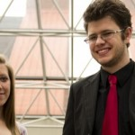 Kristen Knight and Chris Hayes won two of 271 Goldwater Scholarships awarded nationally to exceptional science, math and engineering students. Darrell Sheffield  | staff photographer