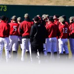 Govs Complete Sweep of Cougars on Senior Day