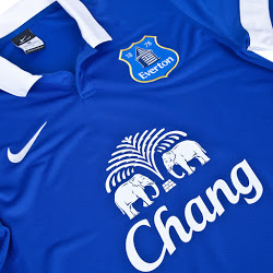 Everton 13-14 Home Kit Shirt (3)