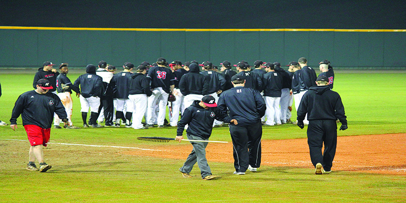Govs baseball loses road trip