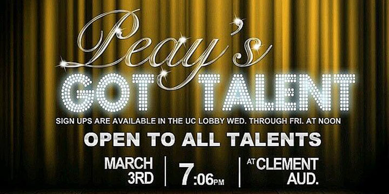 APSU talent show fills Clement Auditorium