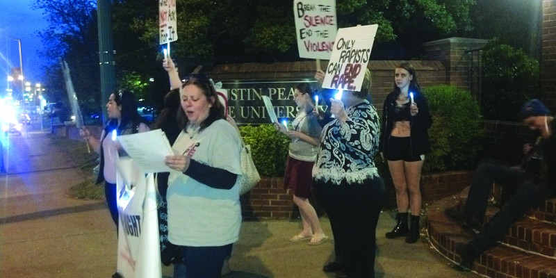 Take Back the Night protests sexual violence