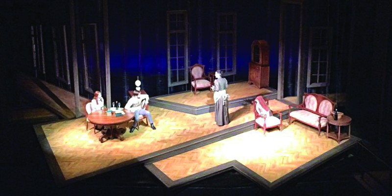 Play review: 'Ghosts' haunts Trahern stage