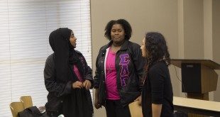 Sigma Lambda Gamma and Sigma Lambda Beta hold a Multicultural Greek Interest Meeting for students of different cultures looking to get involved in APSU Greek life. Trevor Merrill   STAFF PHOTOGRAPHER