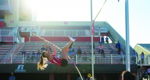 APSU hosts the track & field invitational on Friday, April 15. Photo credit: Dani Hunter