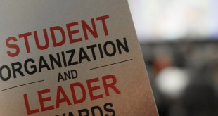 The Student Organization Leader Awards were held on Wednesday, April 13. Photo credit: Leann Endsley