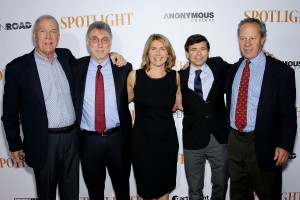 The real life crew behind Spotlight.