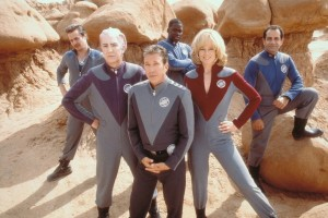 The crew of Galaxy Quest