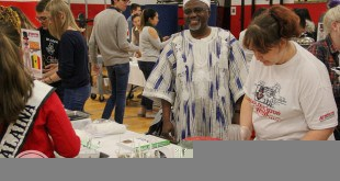 The Center for International Education hosts an annual International Night on Tuesday, Nov. 15, 2016