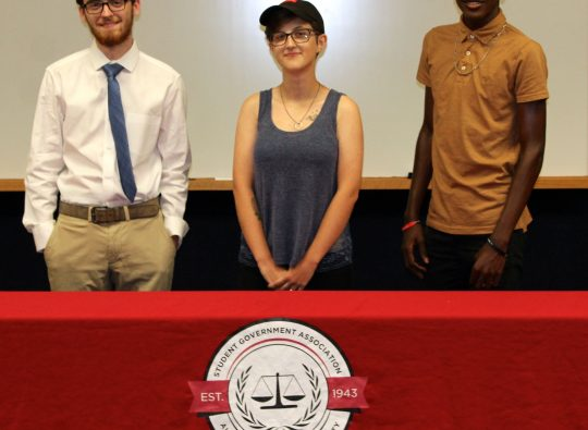 New Faces Ratified to SGA