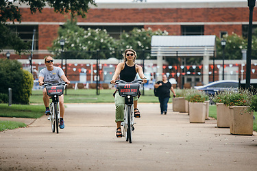 BCycling to sustainability on campus