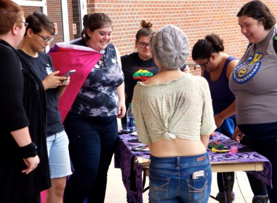 Students celebrate National Coming Out Day