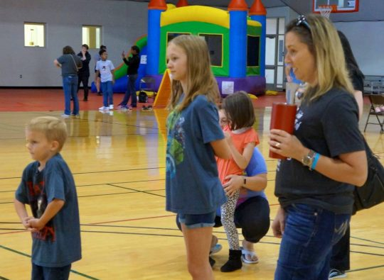 Family fun and focus at Foy Center