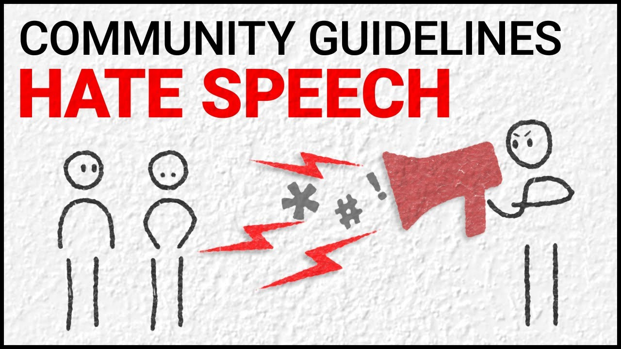 Graphic advertising YoutTube's Hate Speech Policy