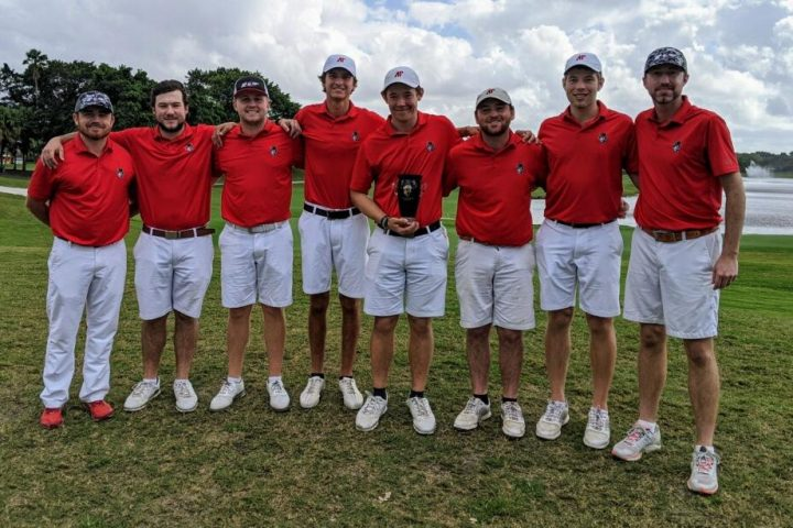 Golf team falls just shy in opening tournament