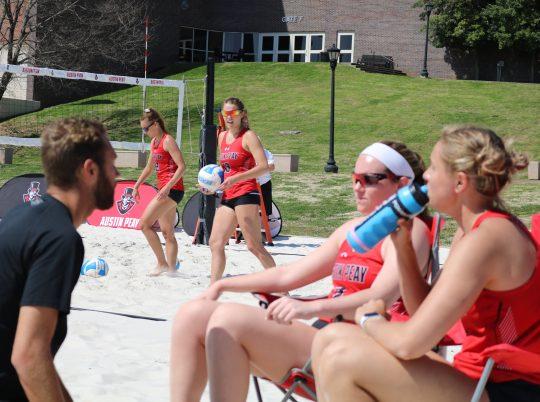 Beach volleyball prepares for first OVC season