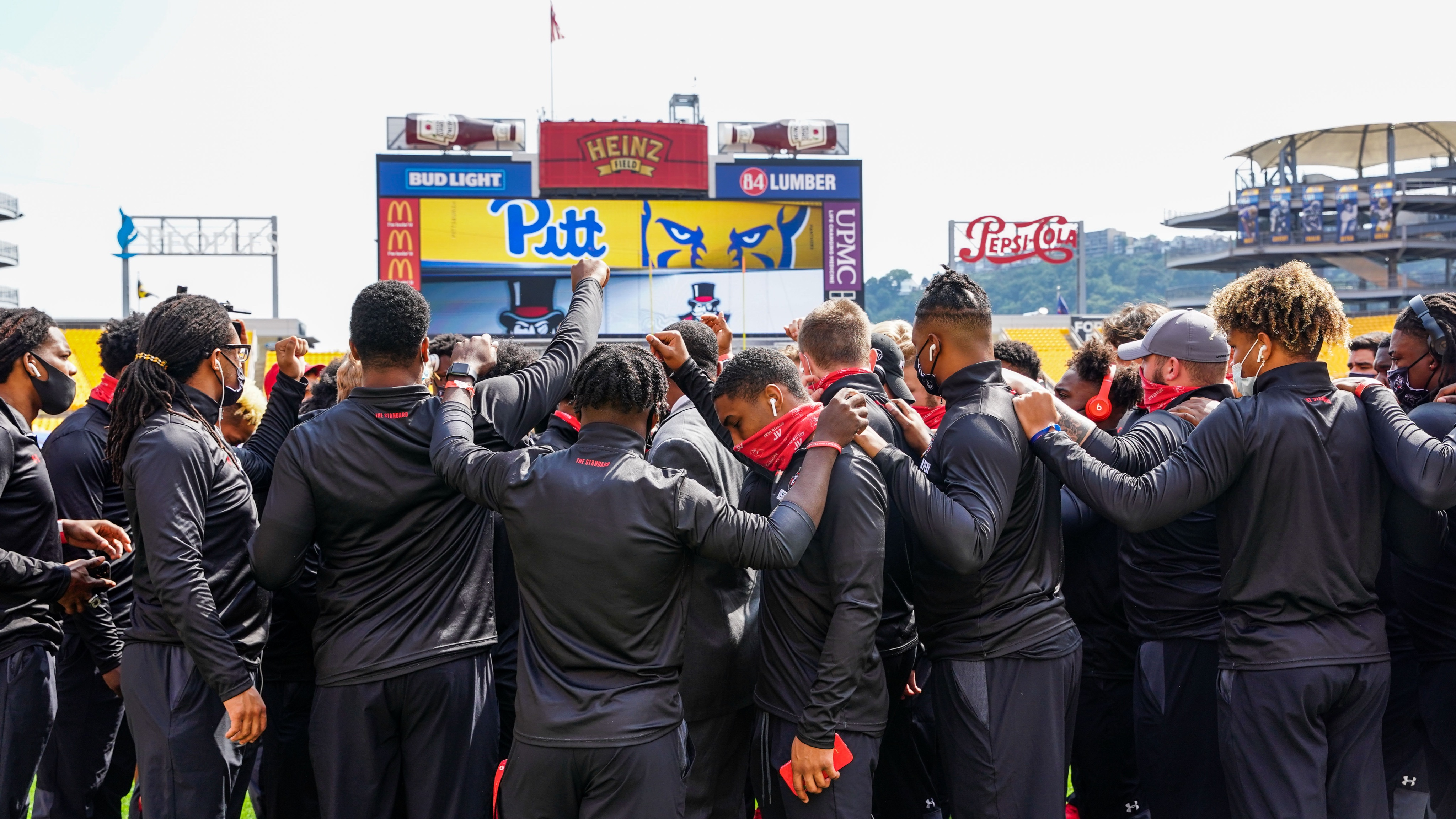 The APSU football team was defeated by the University of Pittsburgh at Heinz Field on Sept. 12. The final score was 55-0 | APSU SPORTS INFORMATION