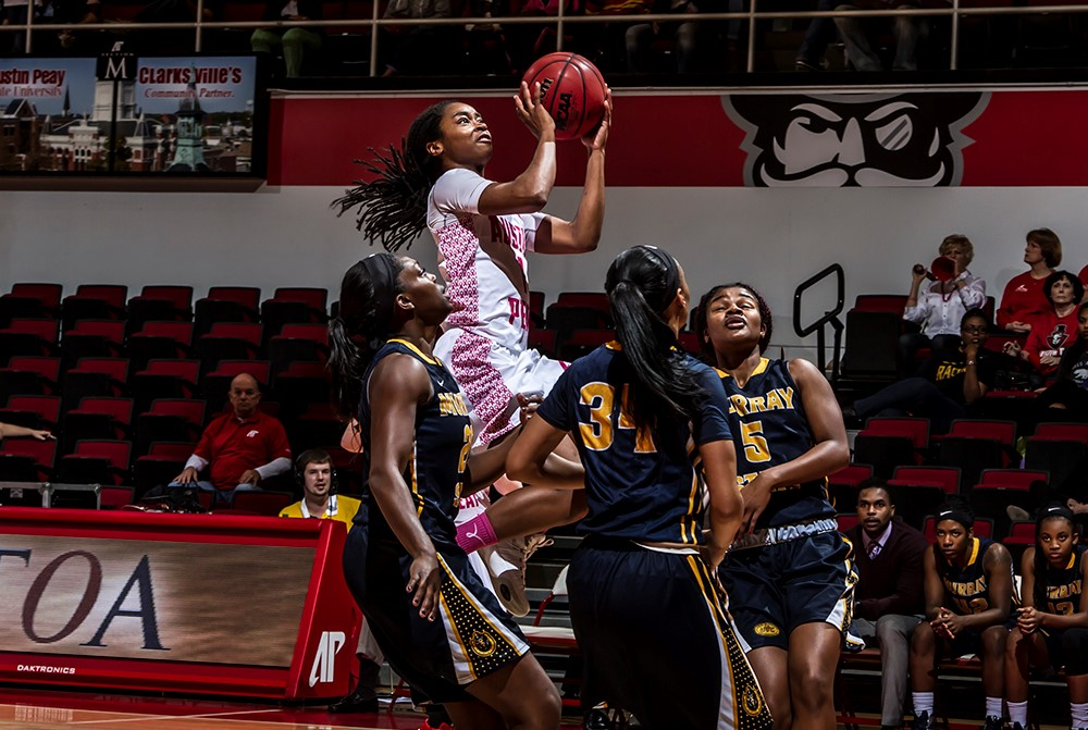 Tiasha Gray now serves as the creative design program assistant at Marquette following an athletic career at APSU and overseas. | APSU SPORTS INFORMATION