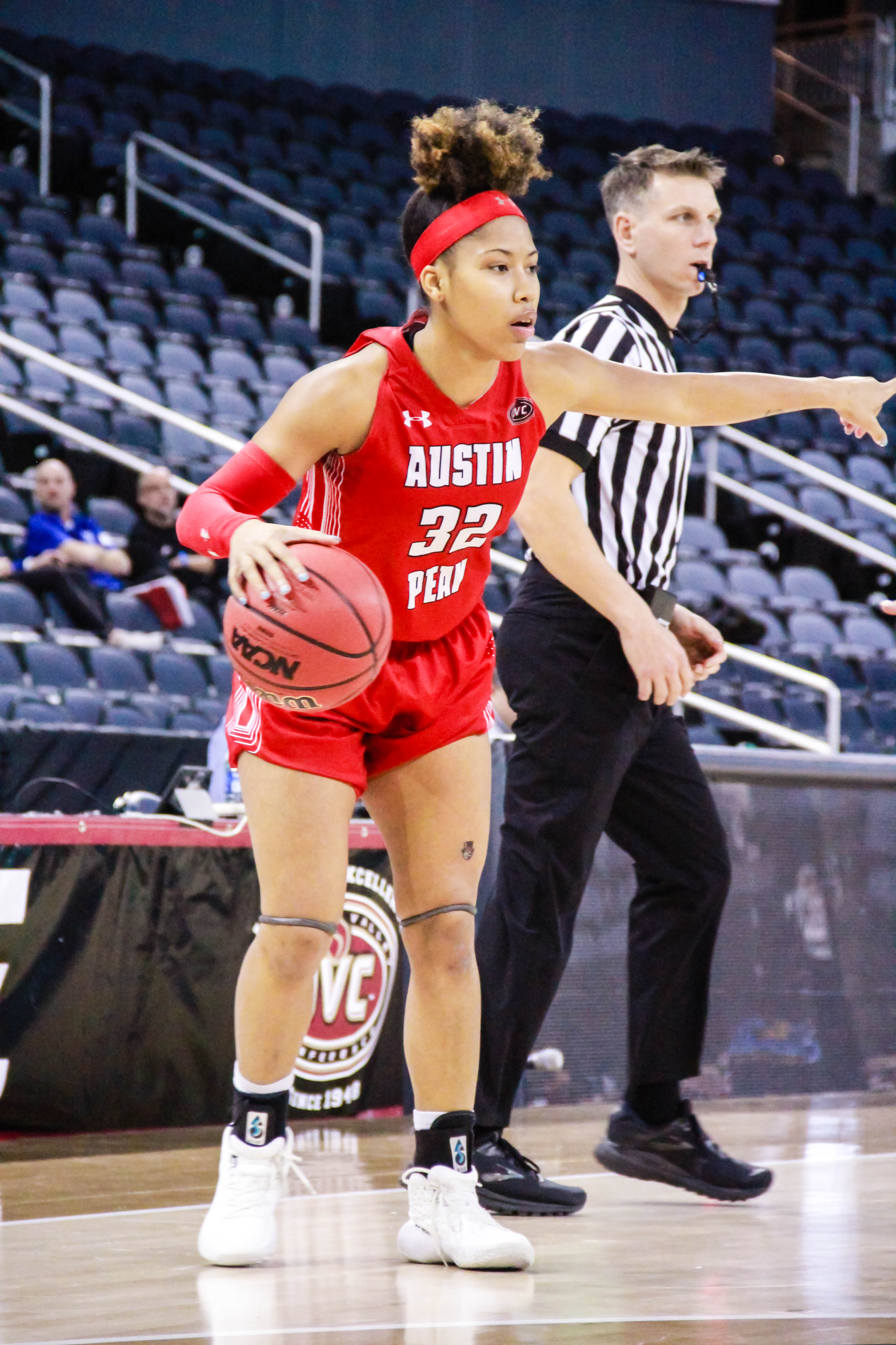 Brianah Ferby poured in 26 in the Govs season-opening game at North Alabama. MAISIE WILLIAMS | THE ALL STATE