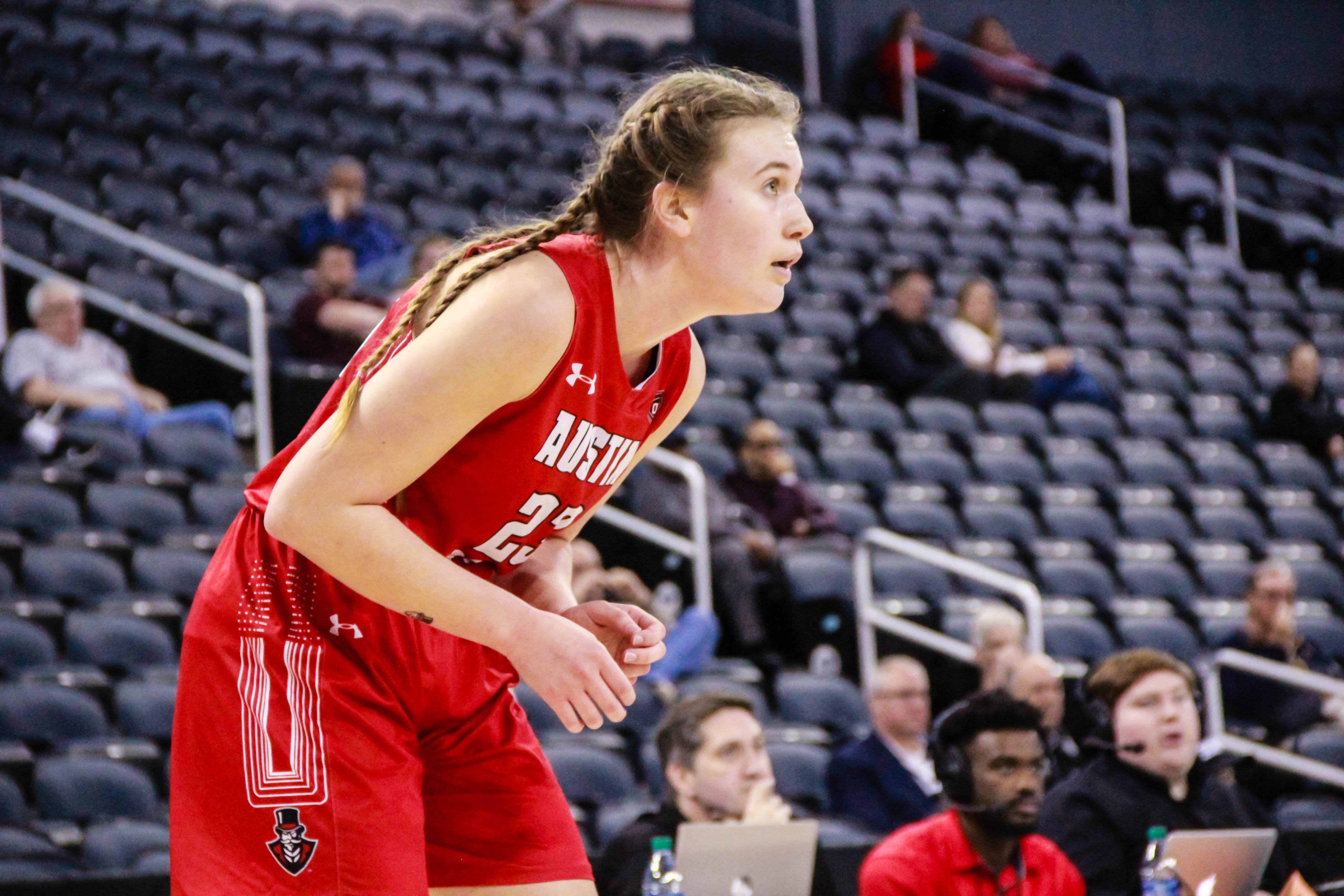 Maggie Knowles scored a game-high 22 points against Trevecca Nazarene in the Governors home opener. MAISIE WILLIAMS | THE ALL STATE