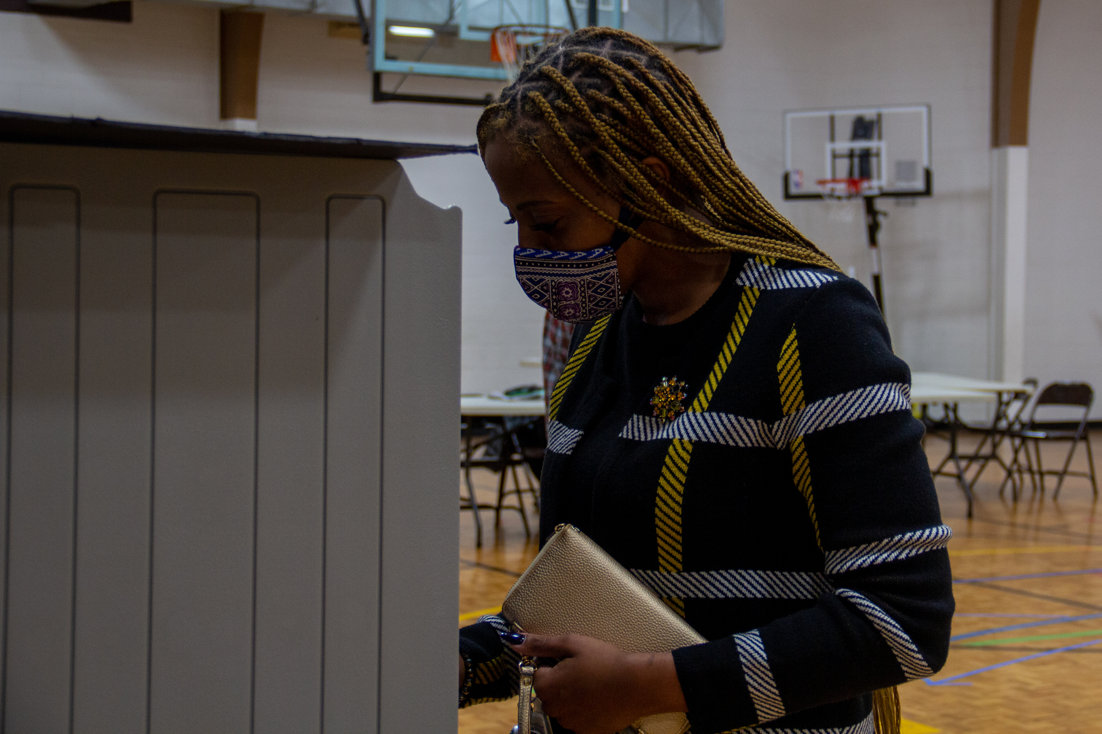 Experienced voters expressed the importance of all ballot casters during the 2020 election. NICHOLE BARNES | THE ALL STATE