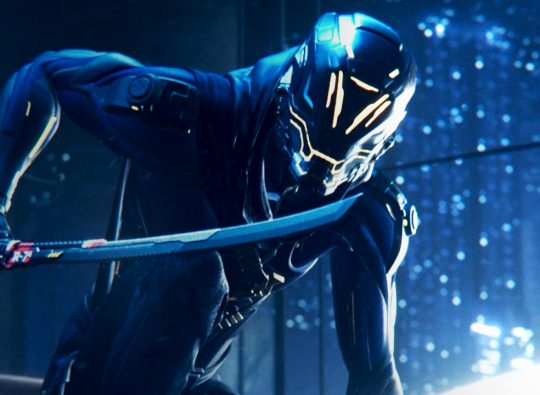 Ghostrunner: the cyber ninja simulator
