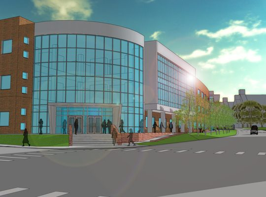 $3 million gift committed to proposed Health Professions Building