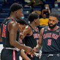 The Govs dropped an 87-57 decision at Mu**ay State to open the OVC slate Tuesday, December 8. COLBY WILSON | APSU SPORTS INFORMATION