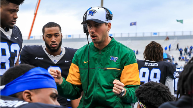 Austin Silvoy joins the APSU coaching staff after spending the previous five seasons at MTSU. | MTSU Athletics