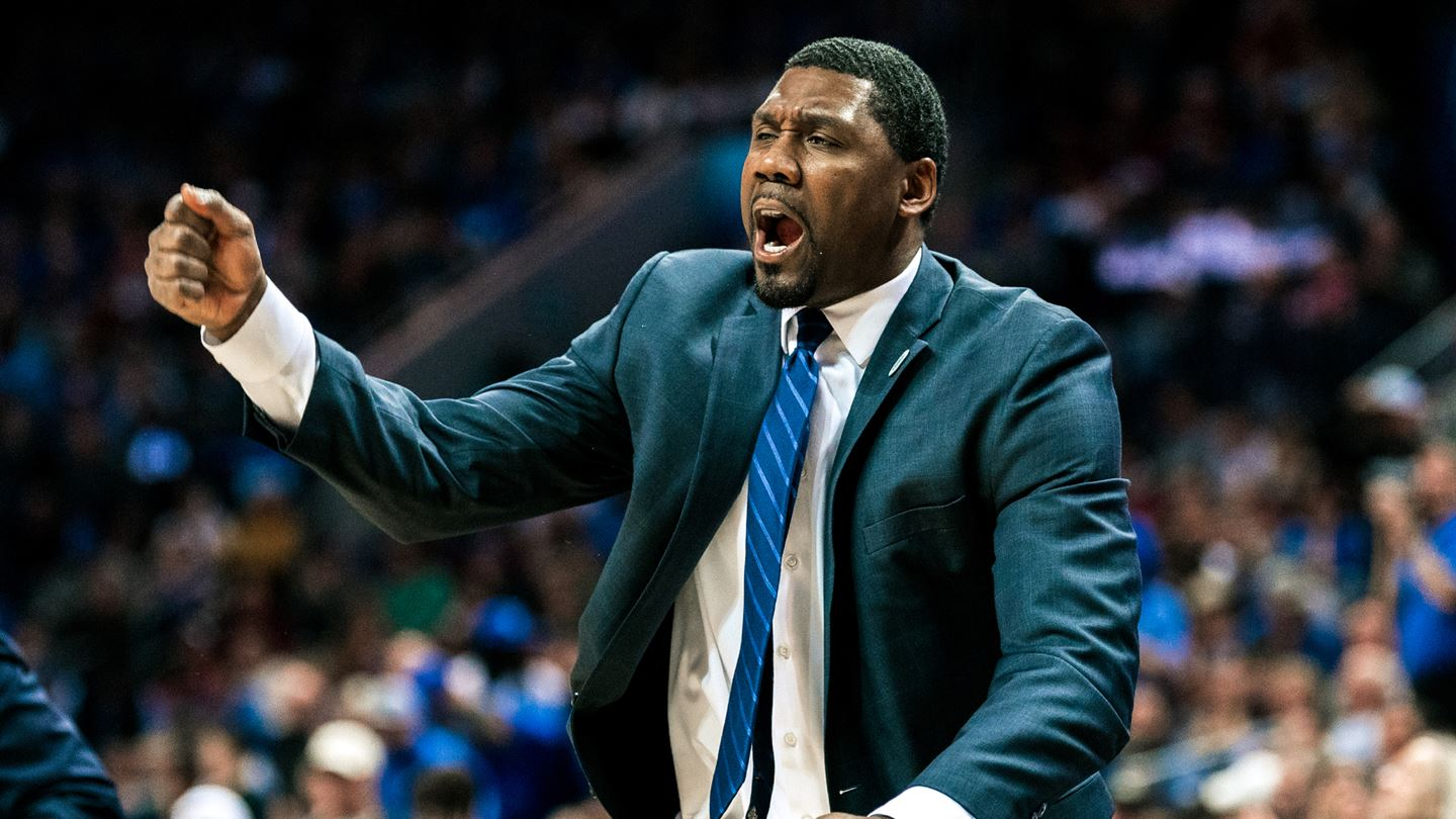 Nate James spent 14 years as an assistant at Duke before becoming the head coach at APSU. | DUKE ATHLETICS