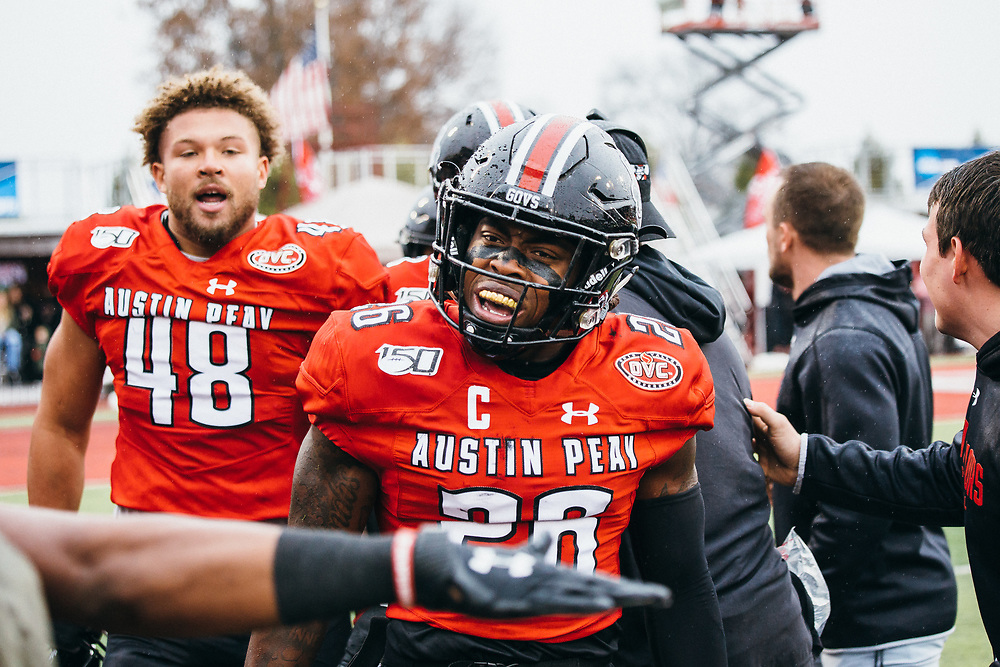 Former APSU football safety, Juantarius Bryant, will attend the Atlanta Falcons' rookie minicamp on May 14-17. THE ALL STATE ARCHIVES