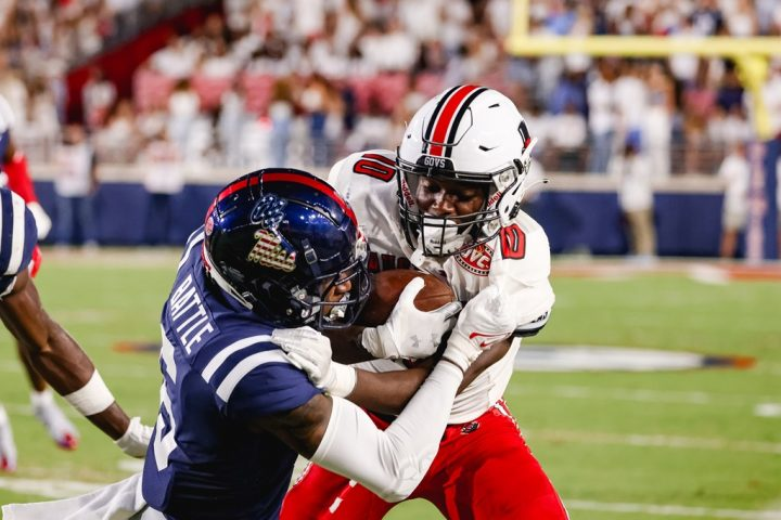 Plenty of positives in 54-17 loss at Ole Miss