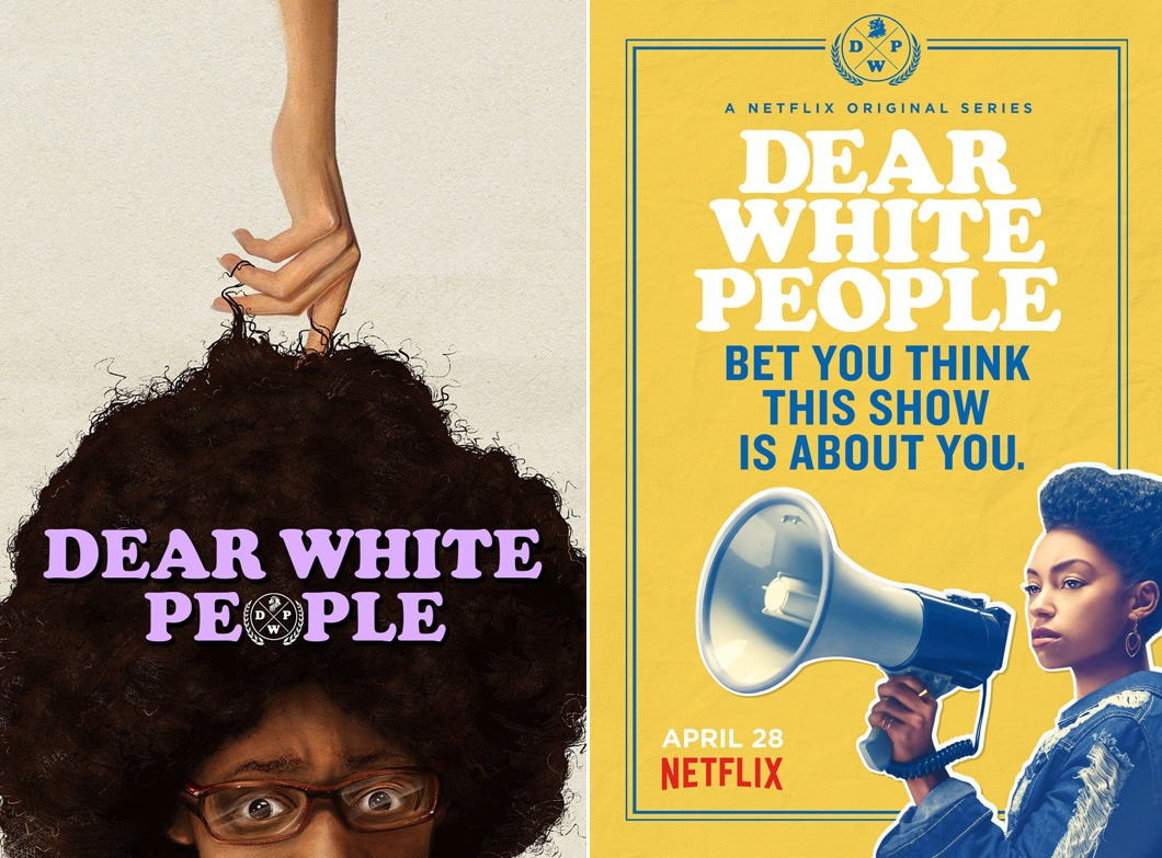 Poster image from the movie Dear White People