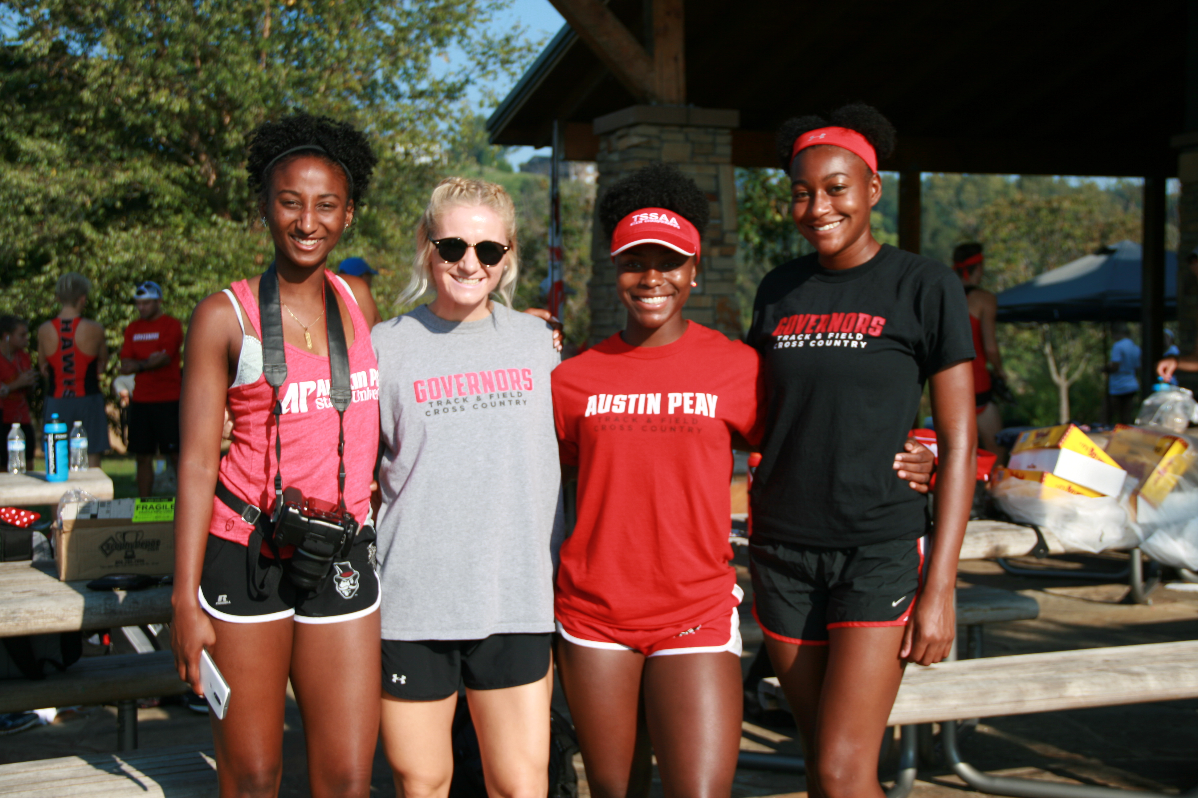 Athletes pose during the 2017 APSU Cross Country Invitational in Clarksville. THE ALL STATE ARCHIVES