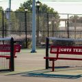 A photo of the newly renovated Governors Tennis Center. NICHOLE BARNES | THE ALL STATE