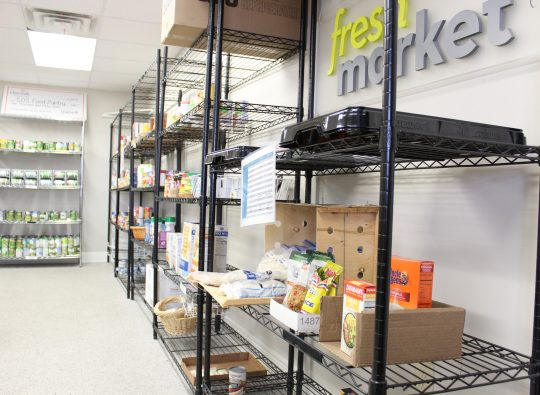 Thanksgiving on campus: how the S.O.S. Food Pantry is helping students in need