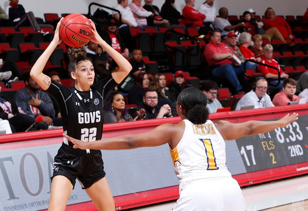 Shay-Lee Kirby set a career high in points on Wednesday in the Governors season-opening game. | APSU SPORTS INFORMATION