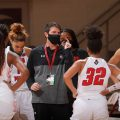 David Midlick and APSU women's basketball dropped another close game on Tuesday, Dec. 15. ROBERT SMITH | APSU SPORTS INFORMATION