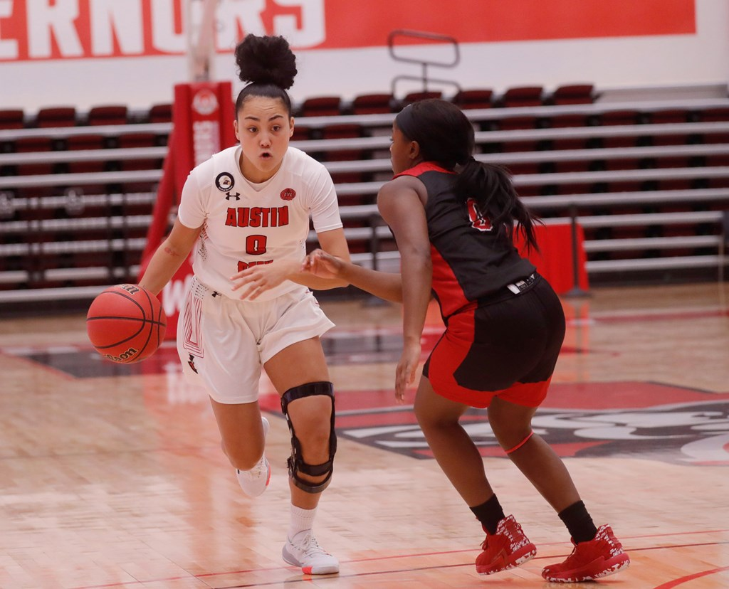 Austin Peay defeated Jacksonville State 61-51 during Saturday's OVC game at the Dunn Center. ROBERT SMITH| APSU ATHLETICS