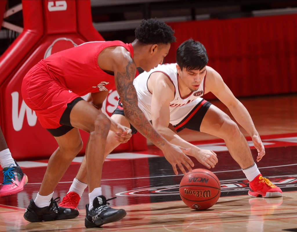 Austin Peay lost to Jacksonville State 76-70 during Saturday's OVC game at the Dunn Center. ROBERT SMITH | APSU ATHLETICS