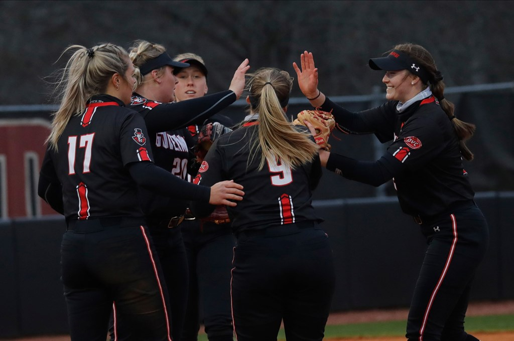 The Governors swept Morehead State in a three-game at Cathi Maynard Park. Robert Smith | APSU Athletics