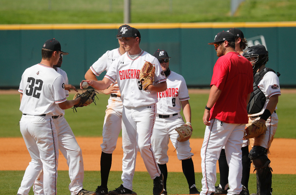 APSU dropped both games in a Friday doubleheader to Morehead State. ROBERT SMITH | APSU ATHLETICS