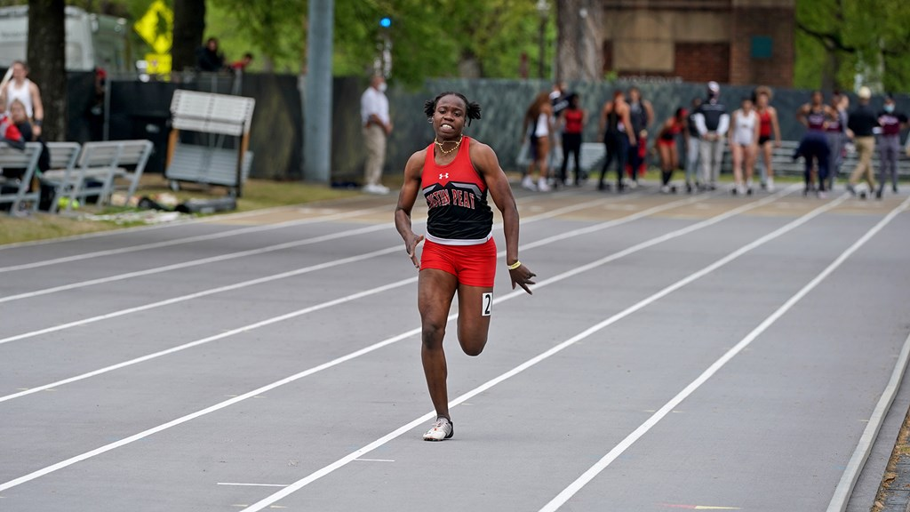 Kenisha Phillips is making the most of her time away from home. COLBY WILSON | APSU ATHLETICS