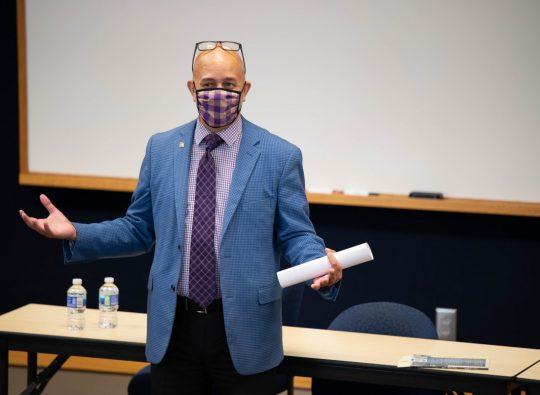 Ricardo Nazario y Colón gives Puerto Rican, Latinx perspective at Asanbe Diversity Symposium