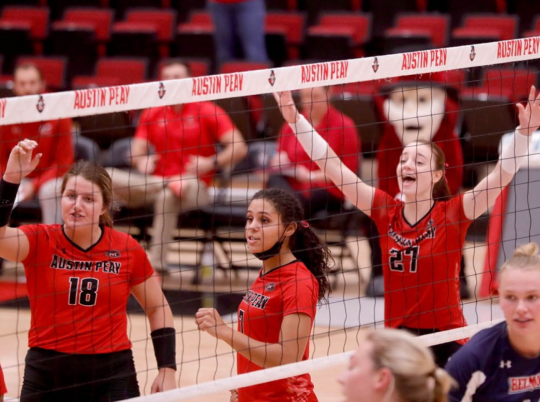 APSU volleyball earns another weekend sweep